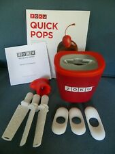 Williams Sonoma ZOKU Quick Pop Maker Freeze Pops Popcicles In 7 To 9 Minutes