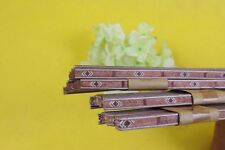 25 Strip Guitar Luthier Purfling Binding Marquetry Inlay Figured Wood 640x6x1mm