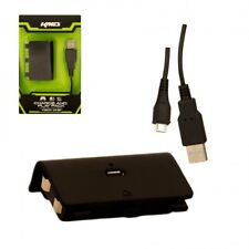 New KMD Charge and Play Pack for Microsoft Xbox One - 10' Cable & Battery