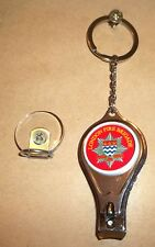 London Fire Brigade key ring,nail clipper,bottle opener post free.