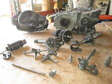 Yamaha 1974 DT250 Clutch Cover Shift Drum Main Shaft Crankcases Etc Parts Lot