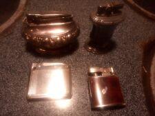 4 Vintage Ronson Cigarette Lighters