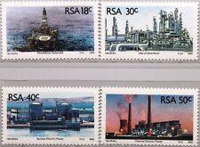 RSA SÜDAFRIKA SOUTH AFRICA 1989 785-88 Energiegewinnung Kraftwerk Ölplattform **