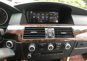 """For BMW 530i 535i 550i 545i 525i E64 2005-08 8.8"""" Android 10 GPS Satnav Radio"""