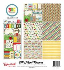 """ECHO PARK """"BUG COLLECTION"""" 12X12 PAPER KIT  BOYS GIRLS BUGS INSECTS SCRAPJACK'S"""