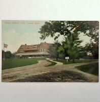 Antique Postcard View of Vesper Country Club Lowell Massachusetts by Valentine