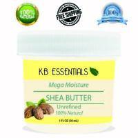 Unrefined Organic Raw African Shea Butter Bulk 1oz 100% Natural Pure Body Skin