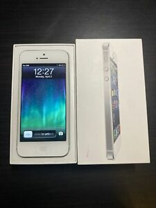 *Rare iOS 6* Apple iPhone 5 White 16gb (Unlocked)