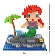 LOZ Block Nano Diamond Blocks Micro Building Toy Disney Little Mermaid Ariel