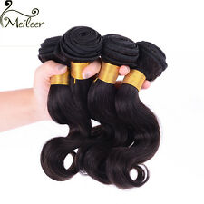 4 Bundles 200g 100% Brazilian Human Virgin Hair Wavy Body Wave Weave Weft