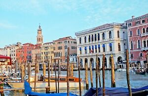 VENICE CANVAS PICTURE POSTER PRINT UNFRAMED 6898