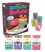 GO NUTS FOR DONUTS! - THE PASTRY-PICKING CARD GAME FUN FAMILY GAMEWRIGHT GAME