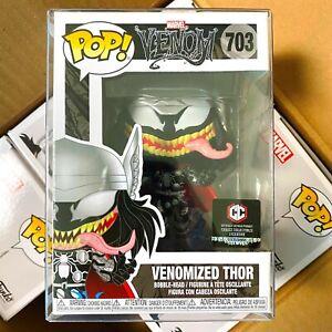 """Funko Pop Marvel Venom : Venomized Thor #703 Vinyl Chalice Exclusive """"Mint Box"""""""