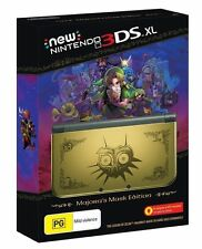 New Nintendo 3DS XL Console Zelda Majora's Mask Edition COLLECTOR PAL RARE SALE!