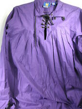 RENAISSANCE SWORDSAMANS SHIRT MUSEUM REPLICAS MEDIEVAL HALLOWEEN COSTUME MEDIUM