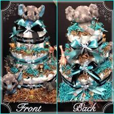 Elephant Safari Diaper Cake