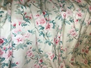 Laura Ashley interlined curtains, superb quality 100 x 54 inch drop