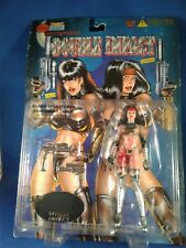 Hellina / Double Impact Blood Splattered China SKYBOLT Action figure 1998 NEW