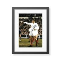 Norman Hunter Signed Leeds United Photo Leeds Utd Autograph Memorabilia