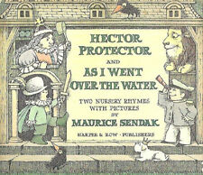 """SENDAK """"HECTOR PROTECTOR AND AS I WENT OVER THE WATER"""" 1965 TRUE 1ST W/DJ VG+"""