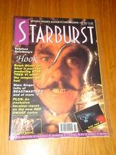 STARBURST #164 BRITISH SCI-FI MONTHLY MAGAZINE APRIL 1992 CAPTAIN HOOK