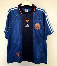 SPAIN NATIONAL 19992000 AWAY FOOTBALL JERSEY CAMISETA SOCCER SHIRT VINTAGE