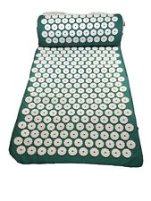 Nayoya Acupressure Mat & Pillow Set Back Neck Sciatic Stress Pain Relief Massage