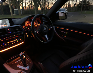 BMW 3 Series F30 F31 F80 Ambient Light Insert Mod Upgrade - FLEX 2.0