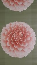 Wallpaper Blown Vinyl Pink Large Flower Feature Wall Washable Textured 76102