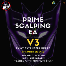 PRIME SCALPING EA Fully Automated MT4 Trading Robot / System / Strategy