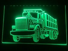 Dump Truck Led Neon Light Sign Car Display Home Service Garage Room Decor Gift