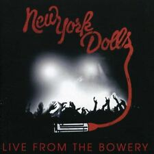New York Dolls 'Live from the Bowery'   ( CD + DVD )  **Brand New**