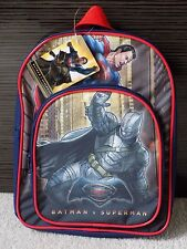 Batman V Superman Kids/Boys School Bag, Backpack, Rucksack, Adjustable Straps