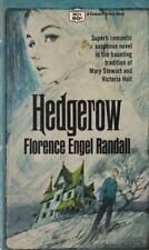 Hedgerow by Florence Engel Randall Gothic Crest Paperback Novel 1968