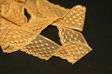 """Stampin Up! Dotted Lace Trim 1"""" Delightful Dijon 1M Lot"""