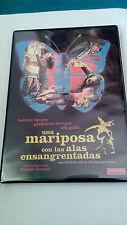 """DVD """"UNA MARIPOSA CON LAS ALAS ENSANGRENTADAS"""" DUCCIO TESSARI GIALLO HELMUT BERG"""