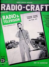 Vintage 1942 WALKIE TALKE DIRECTS TROOPS,  Radio Craft Magazine, HUGO GERNSBACK