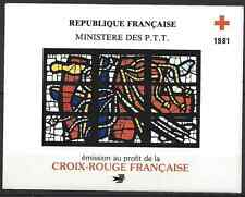FRANCE CARNET CROIX ROUGE RED CROSS 1981 N°2030 NEUF ** LUXE GOMME D'ORIGINE MNH