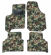 Armee-Tarnungs Autoteppich Autofußmatten Auto-Matten für Opel Meriva B ab 2011