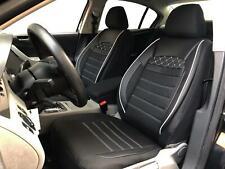 Sitzbezüge Schonbezüge für Daewoo Leganza schwarz-weiss V2224694 Vordersitze