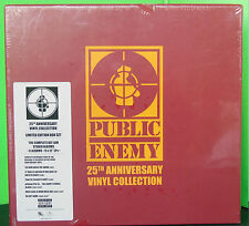 Public Enemy 25 Th anniversary Vinyl Collection lp 2012 Vinile nuovo sigillato