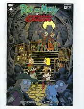 RICK & MORTY VS DUNGEONS & DRAGONS # 4 Variant 1:20 Cover NM