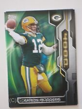AARON RODGERS  - Topps 2015 4000 Yards #4KYC-AR Insert (Green Bay PACKERS)