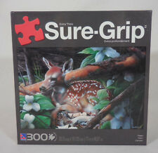 Fawn Deer Forest Sure Grip Puzzle 300 Pieces Extra Thick #70400-3 Sealed 28 X 19