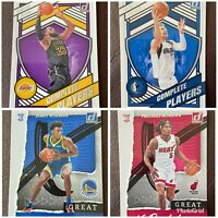 2020-21 Donruss Basketball - Great X-Pectations & Complete Players - You Pick!