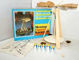 Pyramide Figuren Karussell Enge Figurenbaukasten Kamenzer Spielwaren DDR DEFEKT
