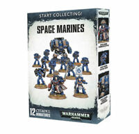 Start Collecting! Space Marines - Warhammer 40k - Brand New! 70-48
