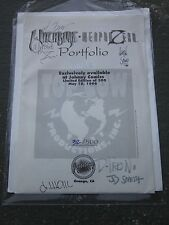 1996 Witchblade Weapon Zero Portfolio Top Cow Johnny Comics Limited 500 Signed