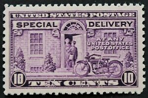 U.S. Mint #E15 10c Special Delivery, Superb Jumbo. NH. Post Office Fresh!  Gem!