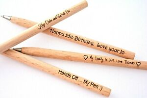 Personalised Pen Gift for Birthday Teacher Daddy Mum Anniversary Thank you Dad
